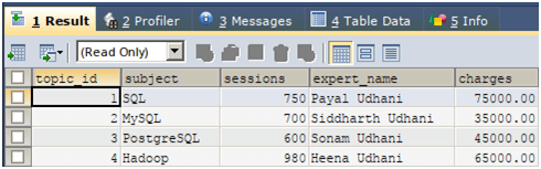 SQL with AS Statement Example 2