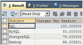 SQL with AS Statement Example 4