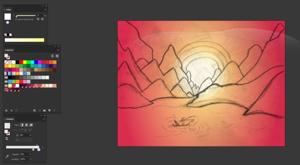 Sun in Illustrator - 12