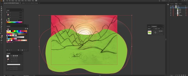 Sun in Illustrator - 14