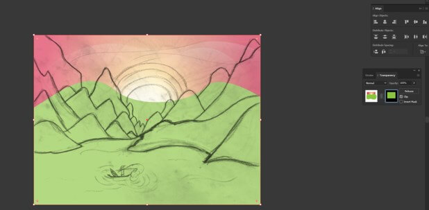 Sun in Illustrator - 16