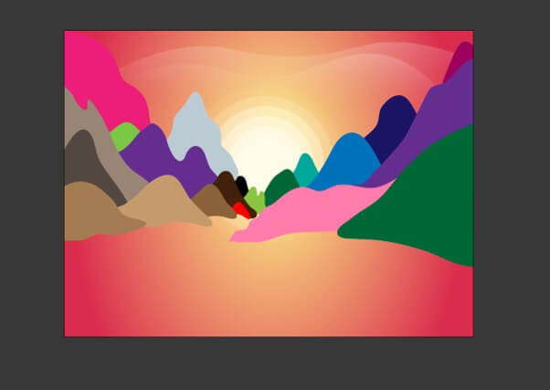 Sun in Illustrator - 20