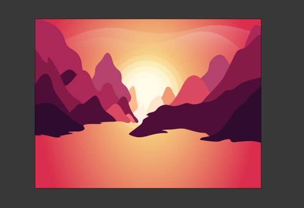 Sun in Illustrator - 22