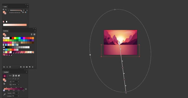 Sun in Illustrator - 24