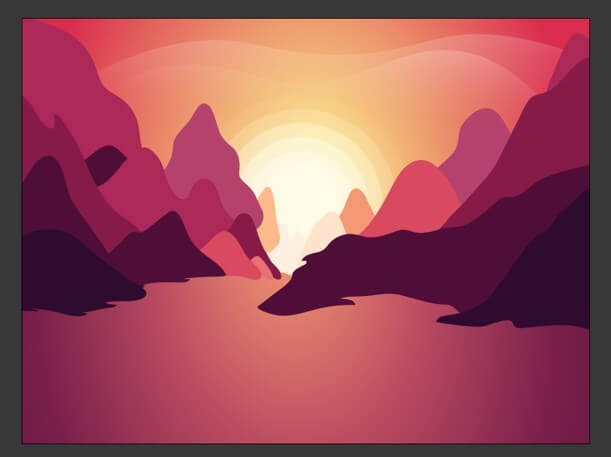 Sun in Illustrator - 25