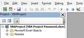 VBA Project Password Example 1-11