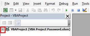 VBA Project Password Example 1-9