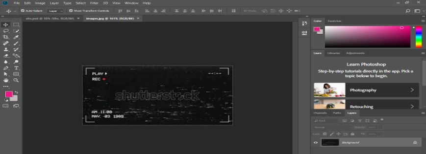 VHS Effect Photoshop - 16