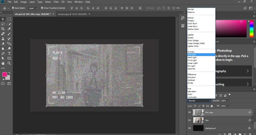VHS Effect Photoshop - 24