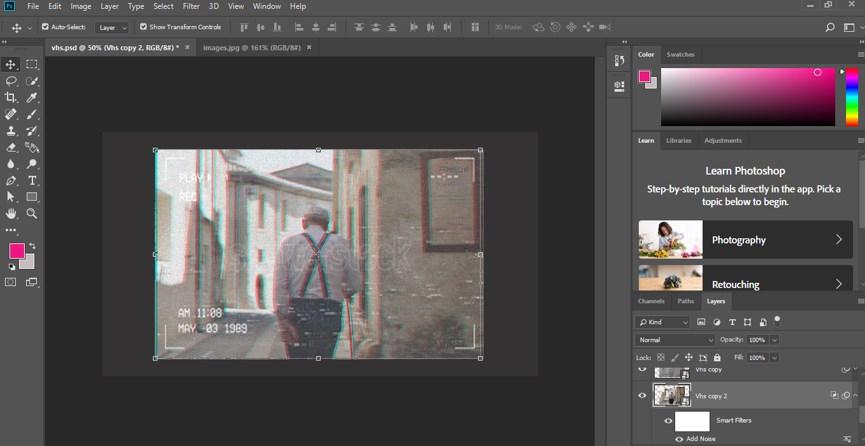 VHS Effect Photoshop - 28