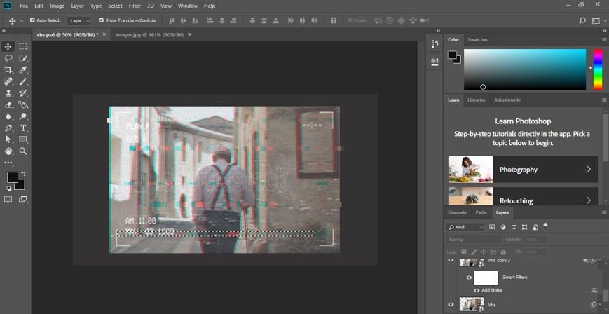 VHS Effect Photoshop - 32