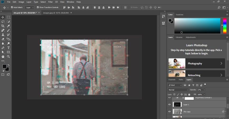 VHS Effect Photoshop - 33
