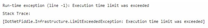 c# StackOverflowException 2