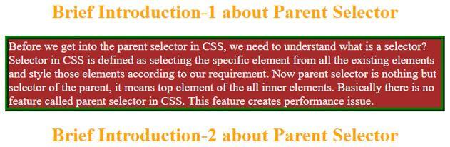 css parent selector3