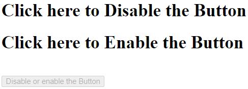 jQueryDisable Button Example 1b