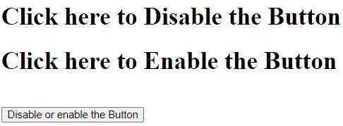 jQueryDisable Button Example 2a