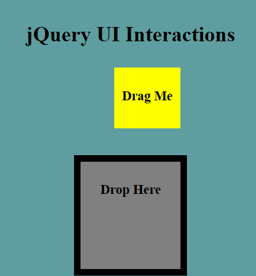 jQuery UI Droppable - 4