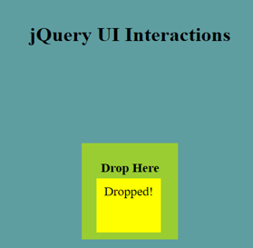 jQuery UI Droppable - 5