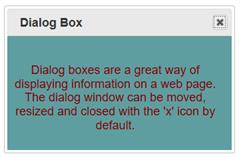 Dialog Box Example 3
