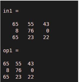 num2str in Matlab-1.3