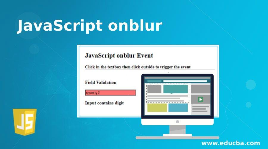 JavaScript onblur