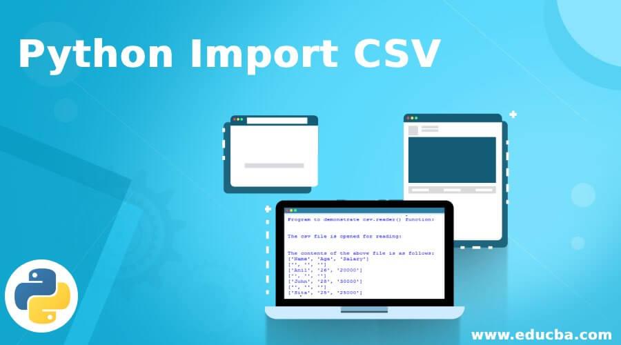 Python Import CSV