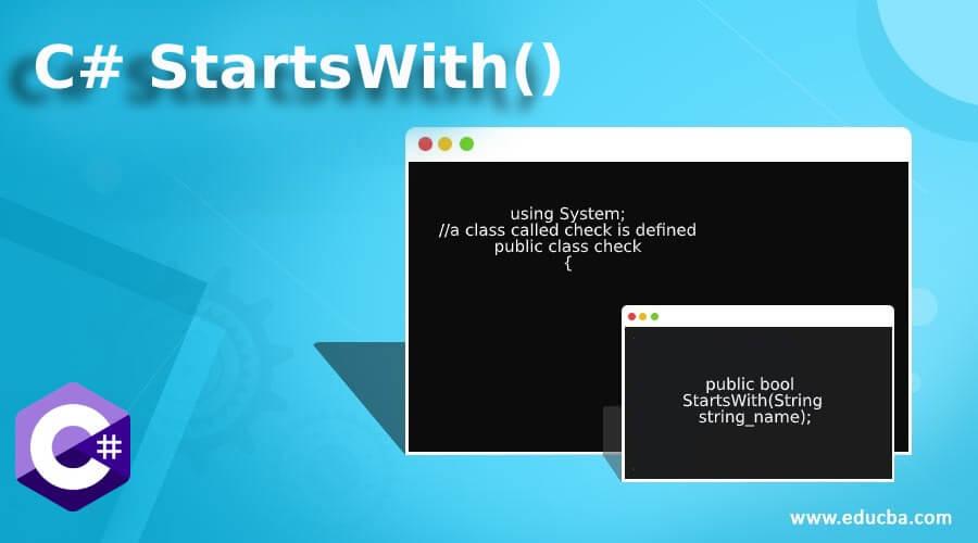 C# StartsWith()