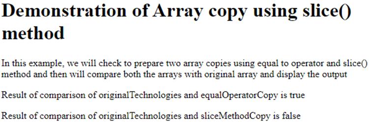 JavaScript Copy Array-1.1