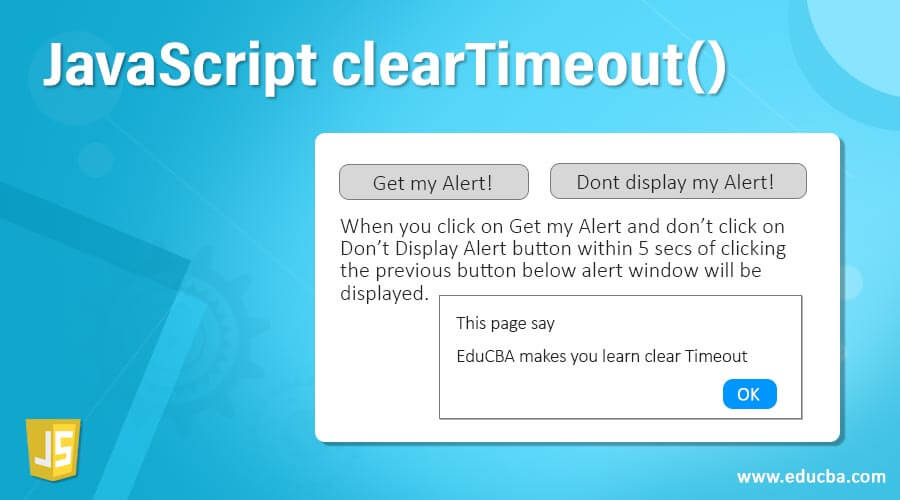 JavaScript clearTimeout()