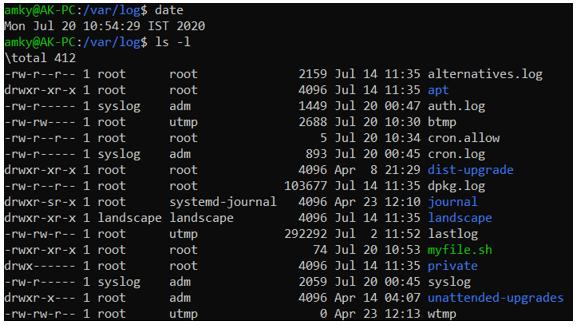 Linux Crontab output 2
