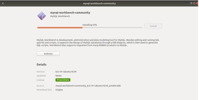 MYSQL Workbench3