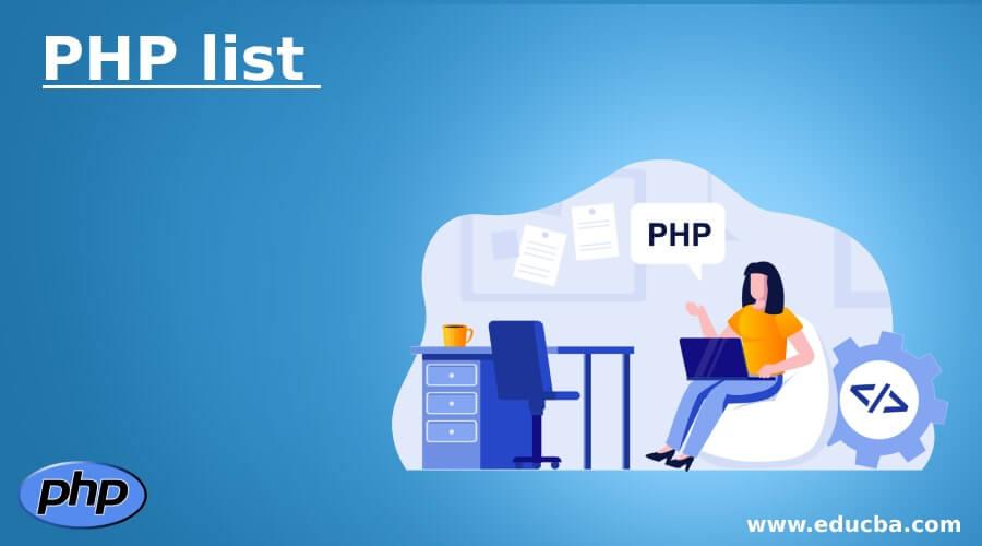 PHP list