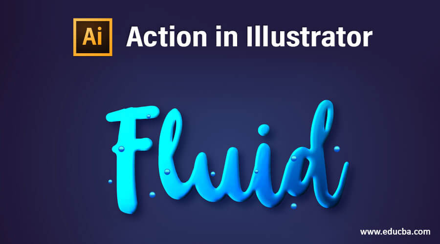 Action in Illustrator