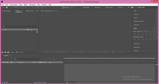 After Effects Cartoon output 1