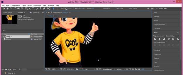 After Effects Cartoon output 19