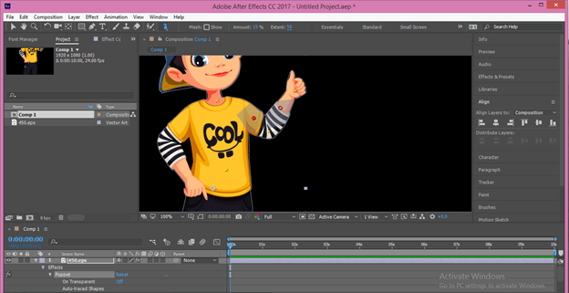 After Effects Cartoon output 21