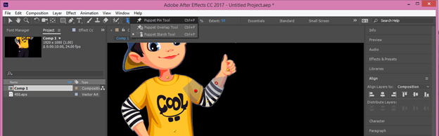 After Effects Cartoon output 22