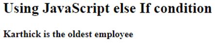 JavaScript elseIf-2.1
