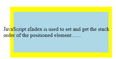 JavaScript z-index-1.3