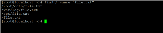 Linux Find File by Name-1.1