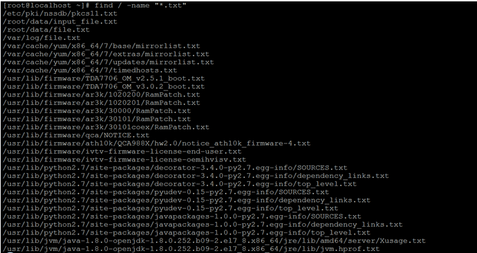 Linux Find File by Name-1.2