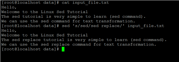 Linux Sed Replace-1.1