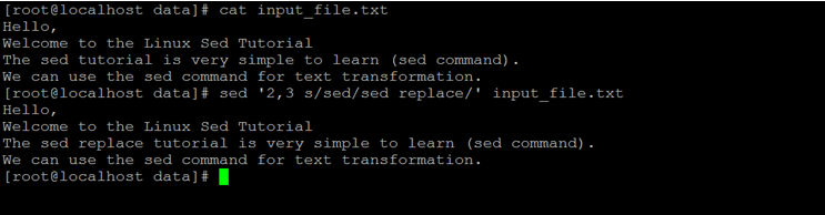 Linux Sed Replace-1.7