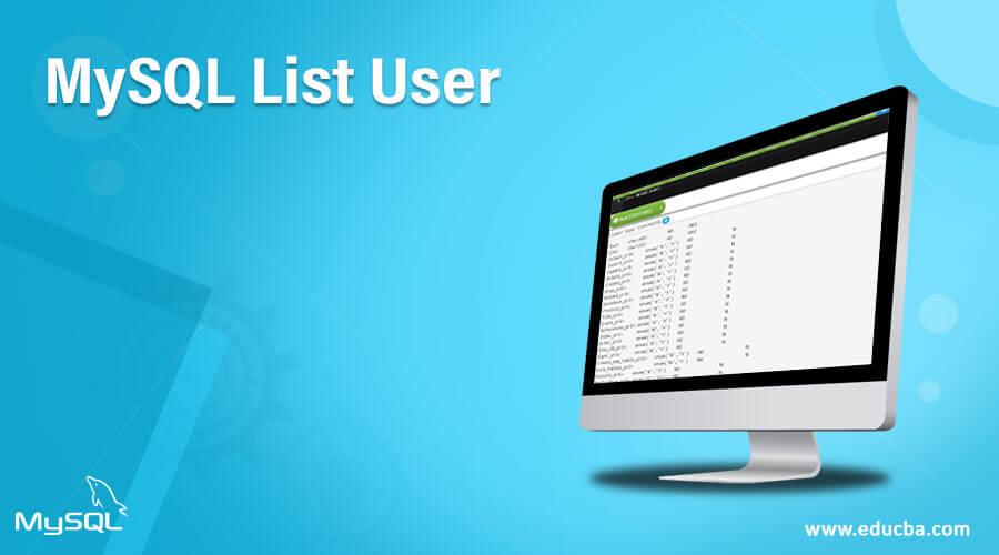 MySQL-List-User