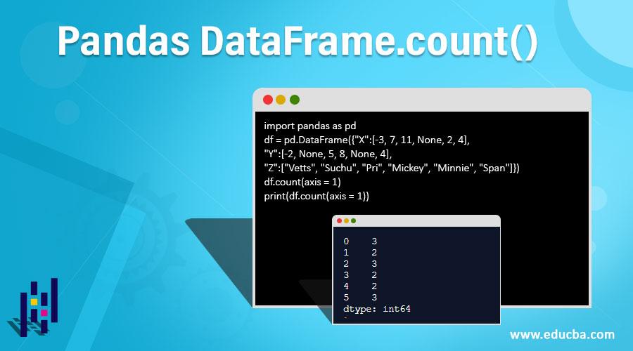 Pandas DataFrame.count()