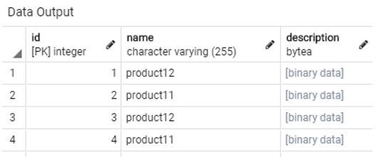 SQL BLOB 11