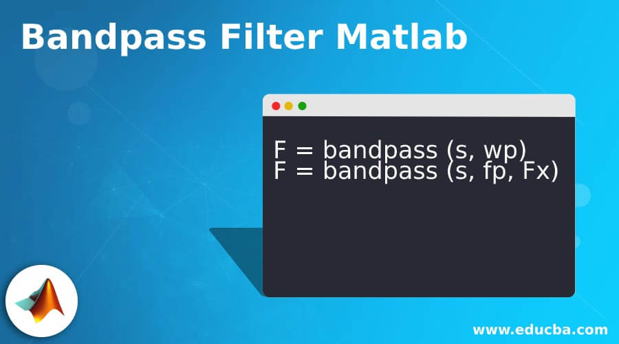 Bandpass Filter Matlab