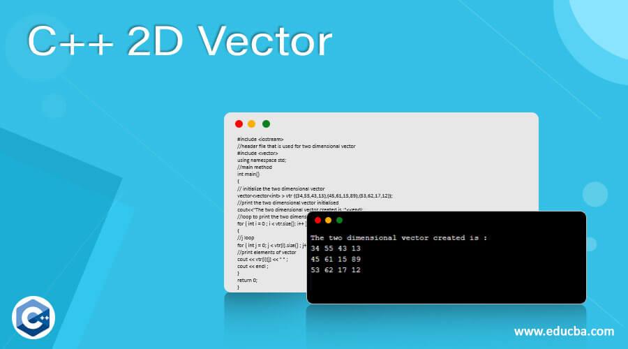 C++ 2D Vector
