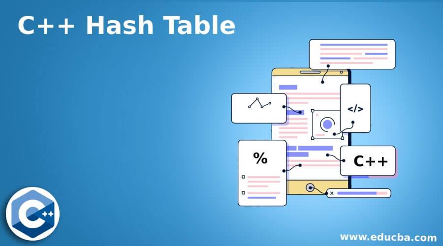 C++ Hash Table