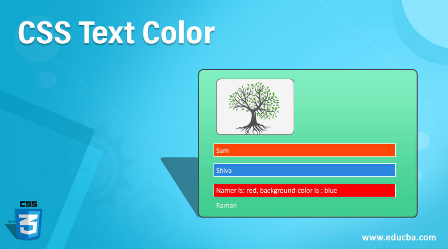 CSS Text Color